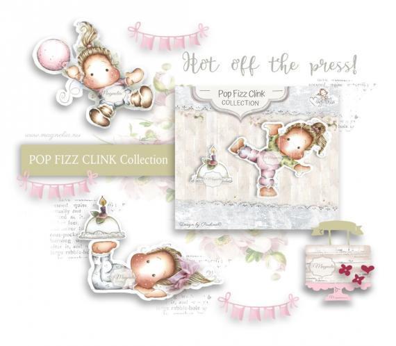 NEW Magnolia collection Pop Fizz Clink