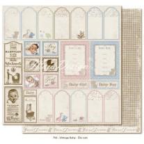 Papir - Die Cuts - Vintage Baby