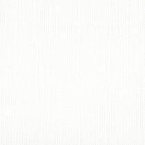 Papir - Bazzill Mono Canvas - 12x12 - White