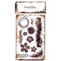 Set štampiljk - Stempelglede - Grunge Collection
