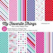 Blok Papirjev - Sweet Stack - 6x6 - My Favorite Things