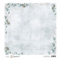 Papir - Summer Birds With Stripes 12x12 - Magnolia