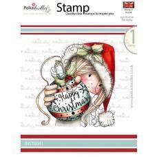 Štampiljka - Winnie - Christmas Bauble - Polkadoodles