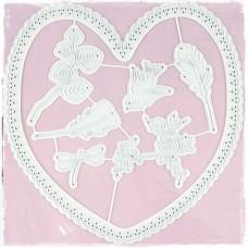 Kovinske šablone - Heartfelt Die Set - Magnolia