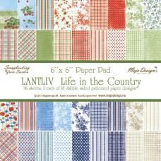 Blok Papirjev Maja Design - Life in the Country - 6x6