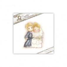 Štampiljka - Vintage Bridal Couple - Magnolia