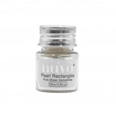 Nuvo - Gemstones - Pearl Rectangles