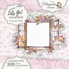 Štampiljka - Cottage Window - Magnolia