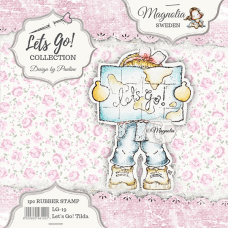 Štampiljka - Let's Go! Tilda - Magnolia