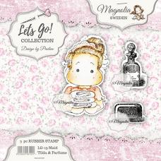 Štampiljka - Maid Tilda & Parfume - Magnolia