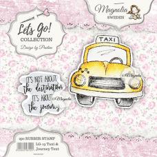 Štampiljka - Taxi & Journey Text - Magnolia