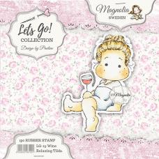 Štampiljka - Wine Relaxing Tilda - Magnolia