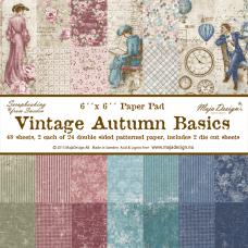 Blok Papirjev Maja Design - Vintage Autumn Basics - 6x6