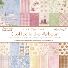 Blok Papirjev Maja Design - Coffee in the Arbour - 6x6