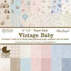 Blok Papirjev Maja Design - Vintage Baby - 6x6