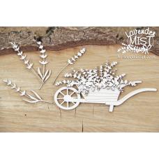 Lavender Mist - Wheelbarrow  - Scrapiniec