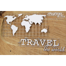 Travel The World - Map - Scrapiniec