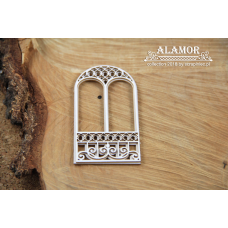 Alamor - 2 Layers Window - Scrapiniec