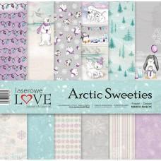 Set papirjev - Arctic Sweeties - 30,5 x 30,5 cm - Laserowe LOVE
