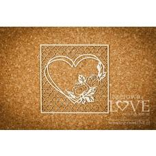 Rose garden in the heart of the grille Vintage - Memories - Laserowe LOVE