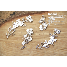 Boho Love - Flowers 01- Scrapiniec