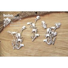 Boho Love - Flowers 02- Scrapiniec