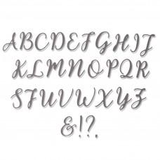Kovinske šablone - Thinlits Die Set 28pk - Elle Uppercase - Sizzix
