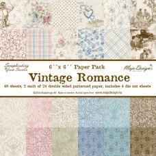 Blok Papirjev Maja Design - Vintage Romance - 6x6