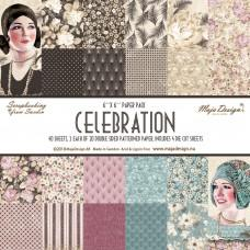 Blok Papirjev Maja Design - Celebration - 6x6