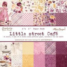 Blok Papirjev Maja Design - Little Street Café - 6x6