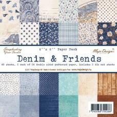 Blok Papirjev Maja Design - Denim & Friends - 6x6