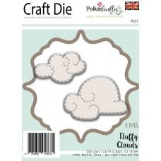 Kovinske šablone - Fluffy Clouds - Polkadoodles