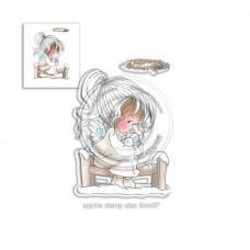 Štampiljka - Snow Tweet - Winnie Heavenly - Polkadoodles