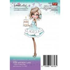 Štampiljka - Ruby - Birthday Cake - Polkadoodles