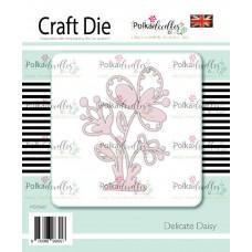 Kovinska šablona - Delicate Daisy - Polkadoodles