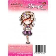 Štampiljka - Winnie - Baked you a Cake - Polkadoodles