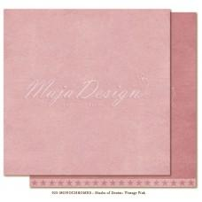 Papir - Monochromes - Shades of Denim - Vintage pink