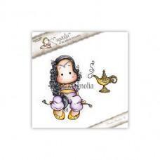 Štampiljka - Aladdin Tilda with Lamp - Magnolia