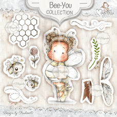 Bee-You Art Stamp Kit - Magnolia