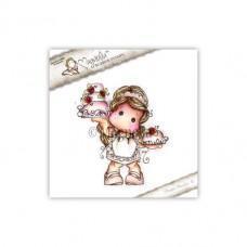 Štampiljka - Rose Cake Tilda - Magnolia