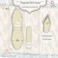 Kovinska šablona - Magnolia Bird House - Magnolia