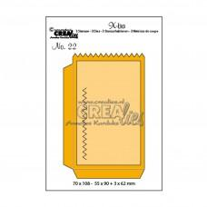 Kovinske šablone - Crea-Lies X-tra Dies no.22 Small Bag