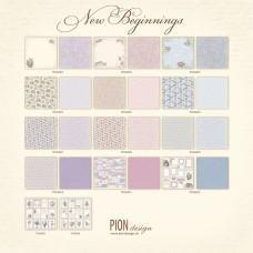 Papir - New Beginnings - Celotna 12x12 kolekcija