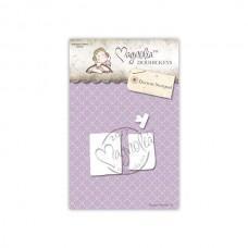 Kovinska šablona - Doctors Notepad - Magnolia