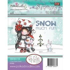 Štampiljka - Winnie Snow Much Fun - Polkadoodles