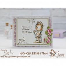 Štampiljka - Hippity Hoppity Flower Bunny Tilda - Magnolia