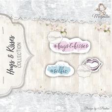 Štampiljka - Hugs & Kisses kit - Magnolia