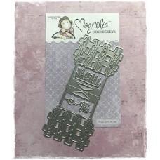 Kovinska šablona - So Wrapped Lovely Garden - Magnolia