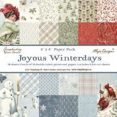 Blok Papirjev Maja Design - Joyous Winterdays - 6x6