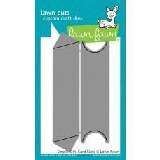 Kovinske šablone - Lawn Cuts - Simple Gift Card Slots - Lawn Fawn